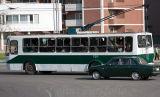 A trolley bus