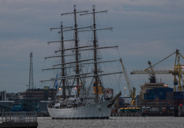 Argentinian Navy training sailing frigate