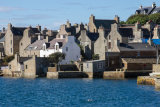 Each house has its own pier from which merchants would trade with passing ships