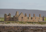 The ruins of the The Earl's Palace, built in the late 16th century by Robert Stewart, Earl of Orkney