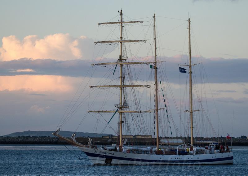 Polish sail training vessel 'Pogoria', built 1980