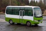 One of our 'luxury'tour buses around Samjiyon