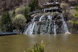 Rimyongsu waterfall