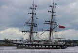 UK sail training vessel 'Stavros S Niarchos', built 2000