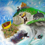 St Cuthbert and the Cuddy Ducks