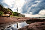Hale lighthouse reflection landscape (c)