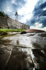 Hale lighthouse wall (c)