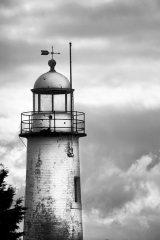 Hale lighthouse Tower (B&W)