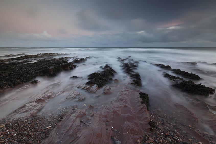 aberdour beach sunrise