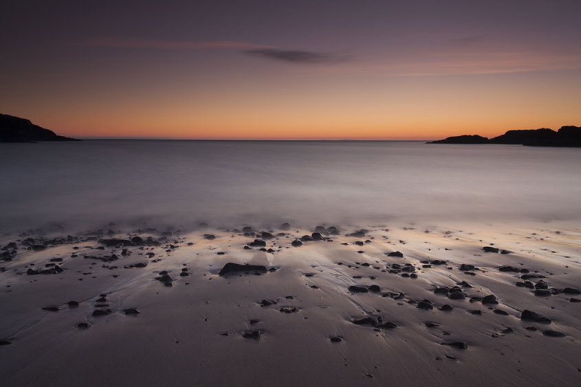 clachtoll beach sunset