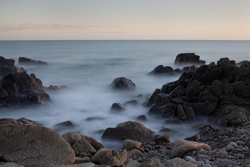 evening light, nigg bay