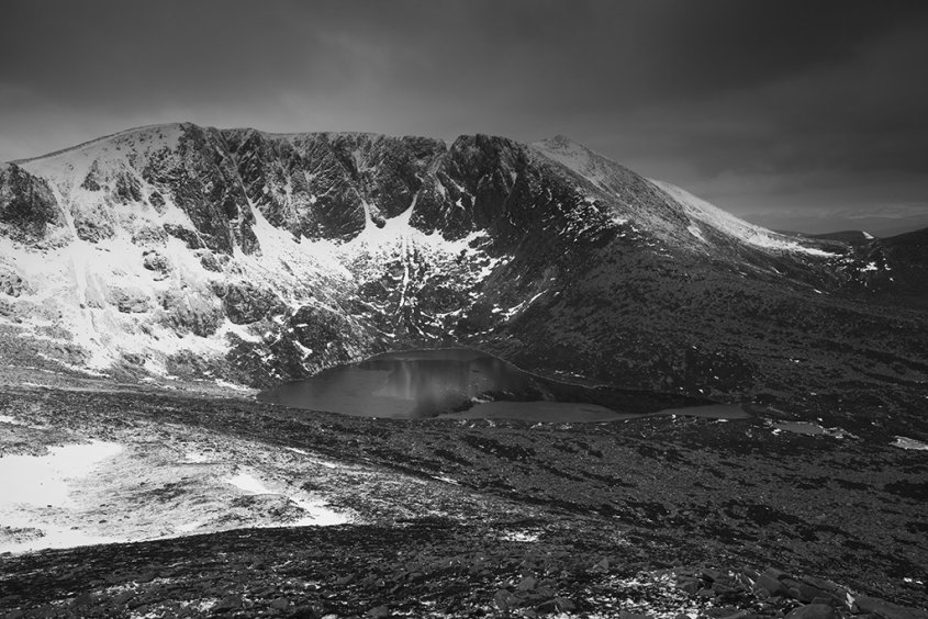lochnagar from meikle pap