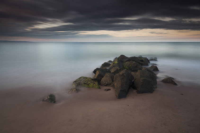 montrose beach sunset