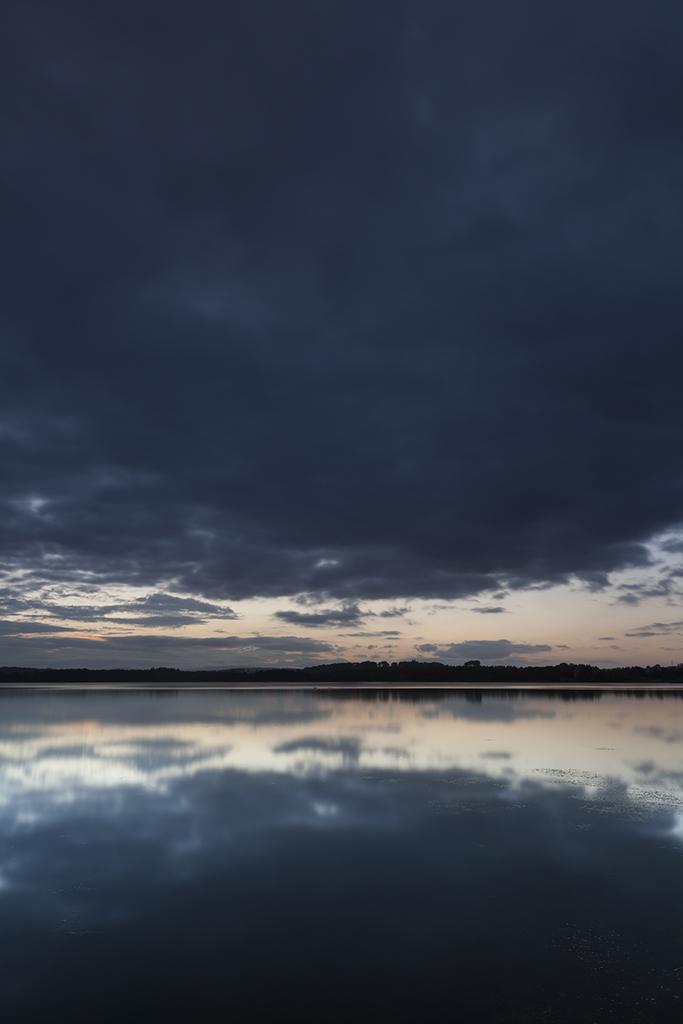 reflection, loch of skene
