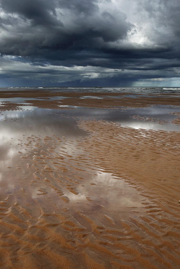 reflections, balmedie beach