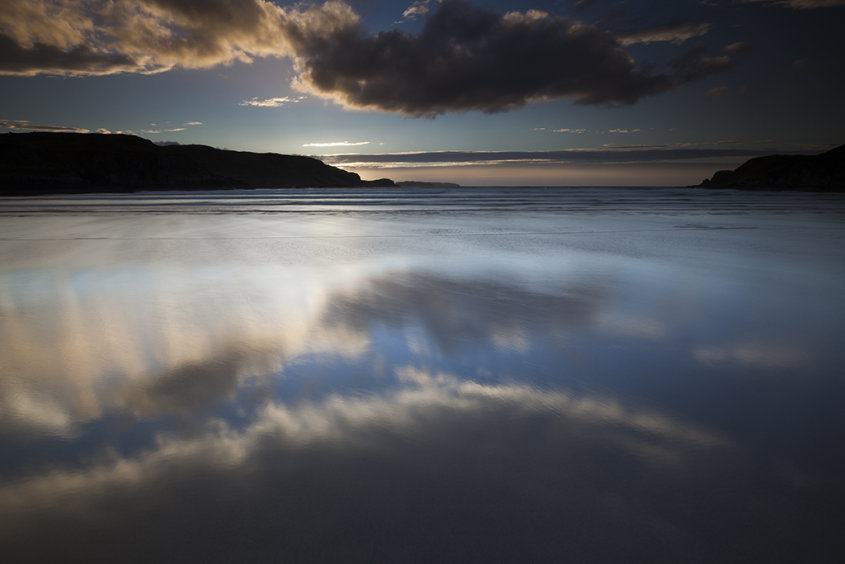 reflections, farr bay
