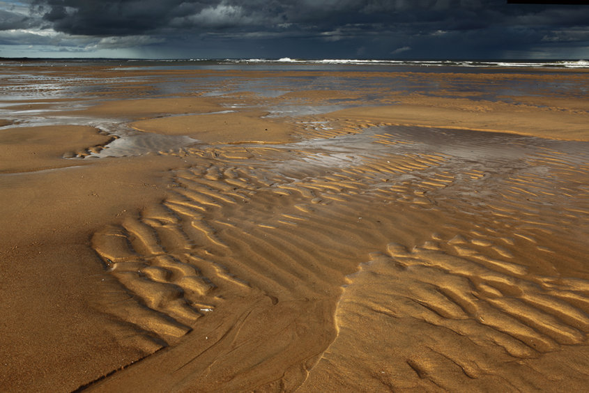 ripples, balmedie beach