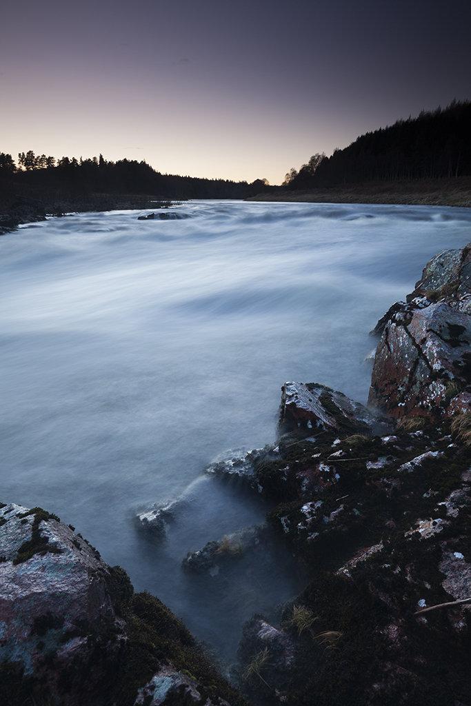 river dee twilight