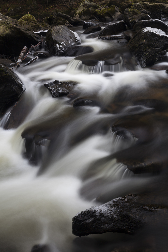 rock flow, river braan