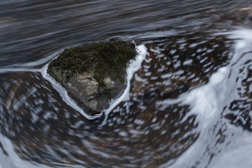 rock flow, river dee