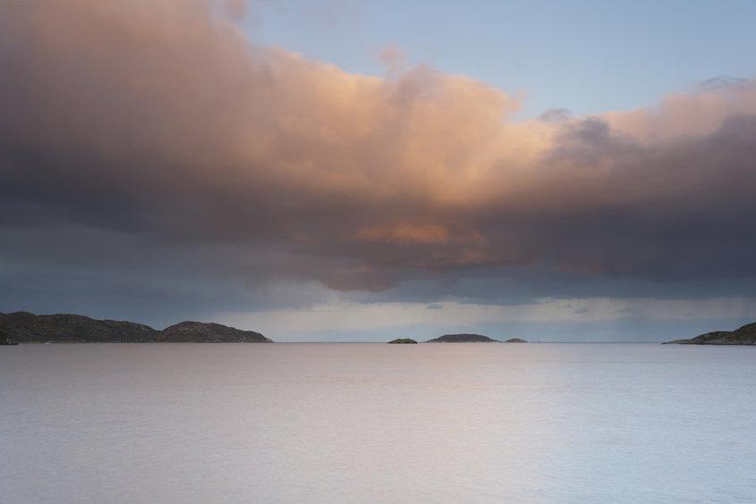 sunrise, loch inver