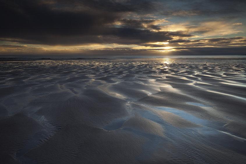 sunrise, lunan bay