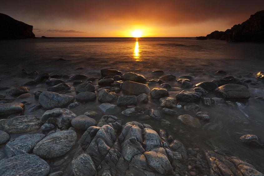 sunrise, newtonhill bay