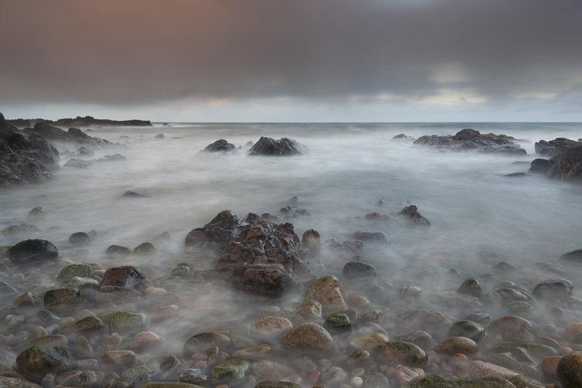 sunset, greyhope bay