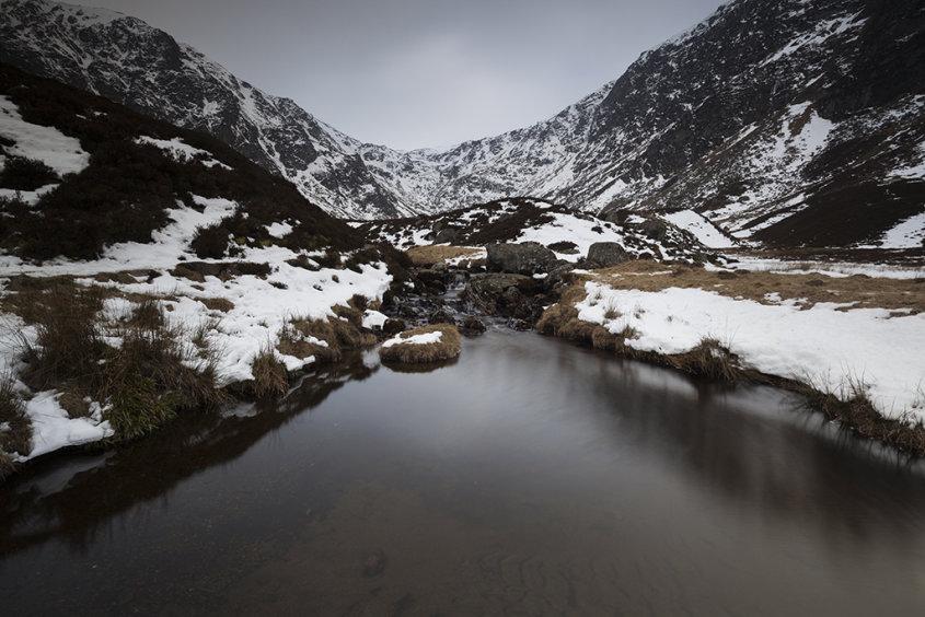 winter pool, corrie fee