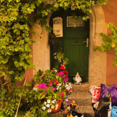 CSL053-Rothenburg Doorway