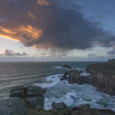 CSL089-Sunset and Hail at Lands End-7735