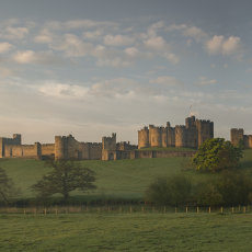 CSL117-Alnwick Castle Stiched