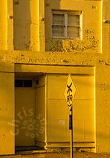 'yellow wall'