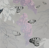 Butterflies and Buddleia - Pink