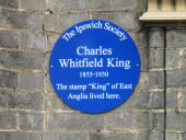 C.Whitfield King, Blue Plaque Unveiling weekend