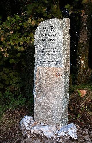 W R Evans - Bluestone Monument