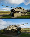 Castlemartin Tanks - 'Romulus' and 'Remus'.