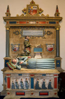 Memorial Tomb - St Mary's Church - Tenby