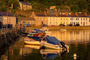 Sunset / Fishguard Harbour