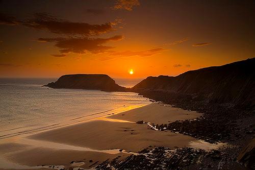 Gateholm Island Sunset