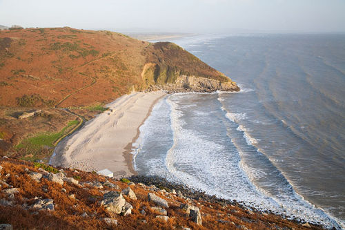 Morfa Bychan Beach