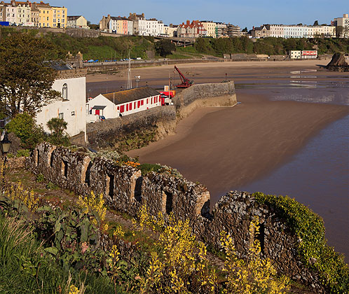 Old Castle Wall - Tenby