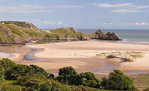 Three Cliffs Bay 3