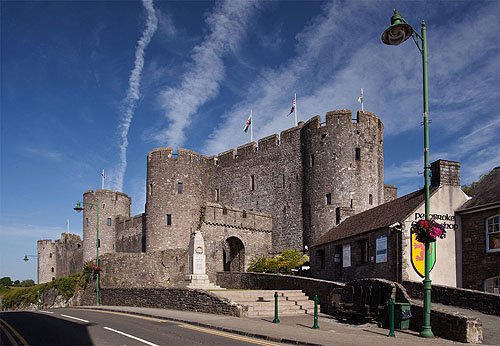 Pemroke Castle - Great Gatehouse