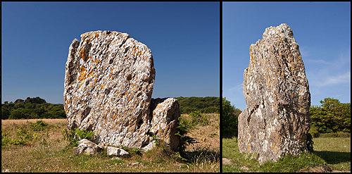 Devil's Quoit - Standing Stone (Menhir)
