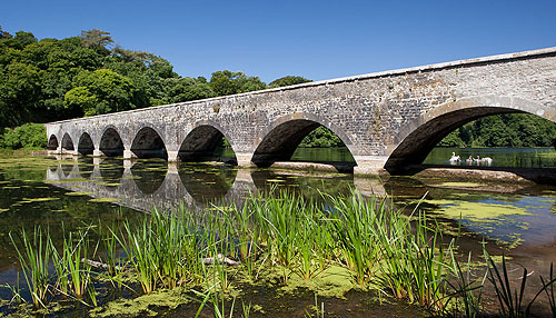 Stackpole - Eight Arch Bridge