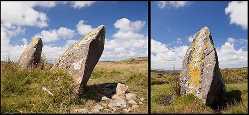 Tafarn y Bwlch - standing stones