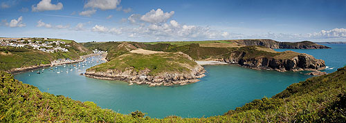 Solva Harbour Panorama