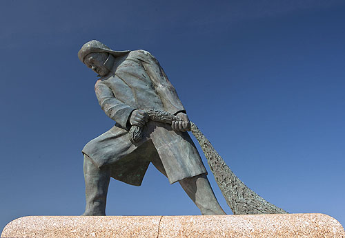 Fisherman Monument - Milford Haven