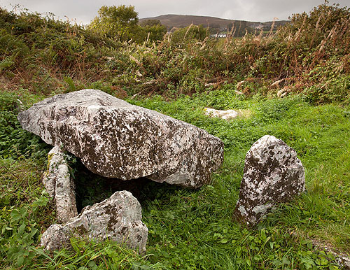 Penmaen Burrows - Chambered Tomb